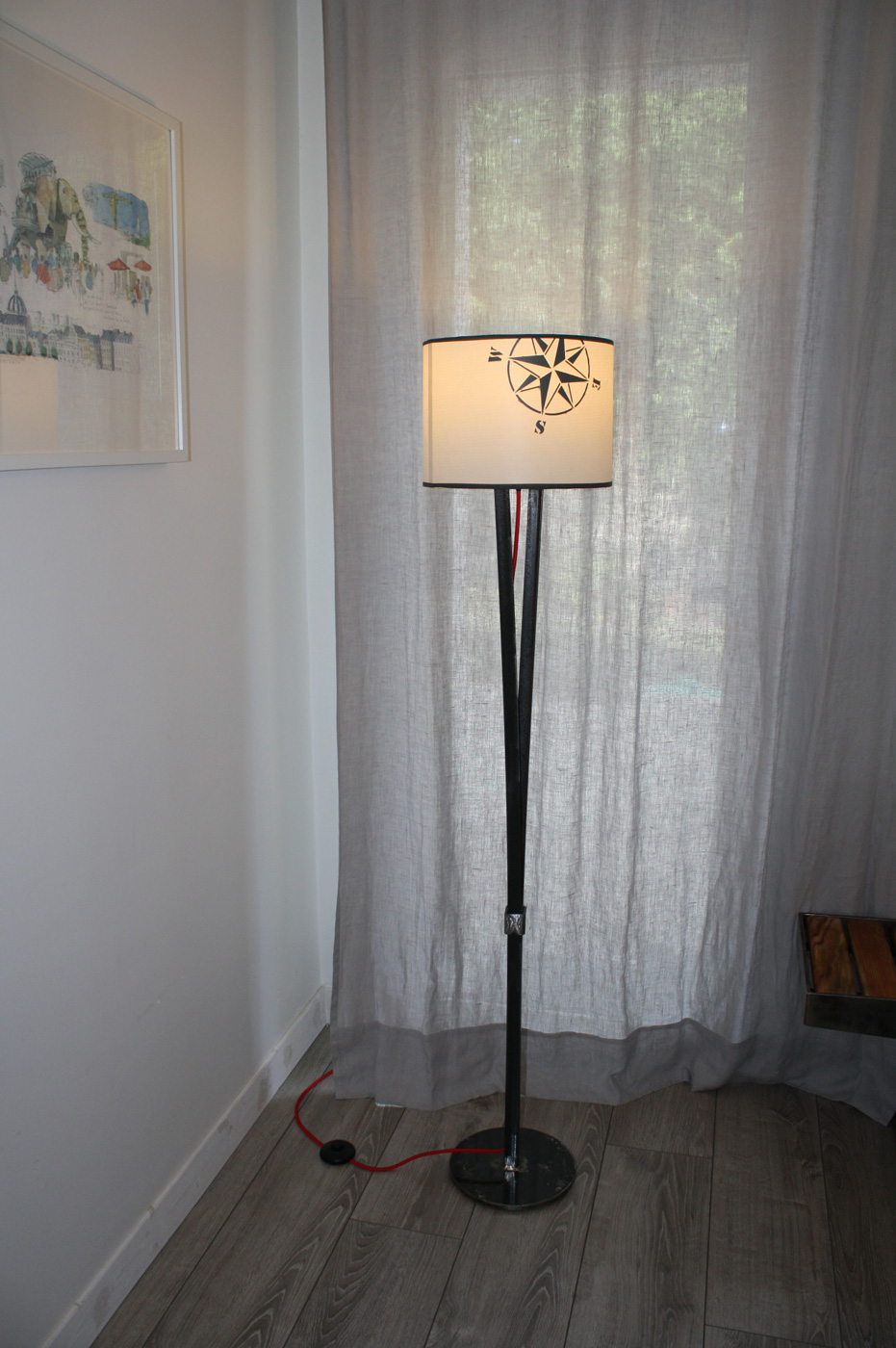 Lampe Rose des vents